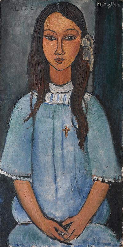 Alice, 1918 | Modigliani | Painting Reproduction