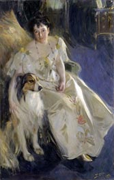 Mrs. Walter Rathbone Bacon, 1897 by Anders Zorn | Painting Reproduction