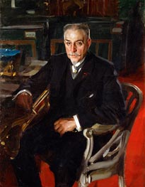 Alfred Beurdeley, 1906 by Anders Zorn | Painting Reproduction