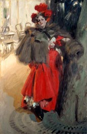 Night Effect, 1895 by Anders Zorn | Painting Reproduction