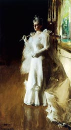 Mrs. Potter Palmer, 1893 by Anders Zorn | Painting Reproduction