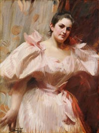 Frieda Schiff, Later Mrs. Felix M. Warburg, 1894 by Anders Zorn | Painting Reproduction