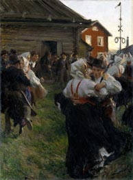 Midsummer Dance, 1897 by Anders Zorn | Painting Reproduction