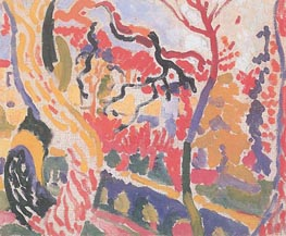 Landscape at Collioure, Summer 190 by Andre Derain | Painting Reproduction