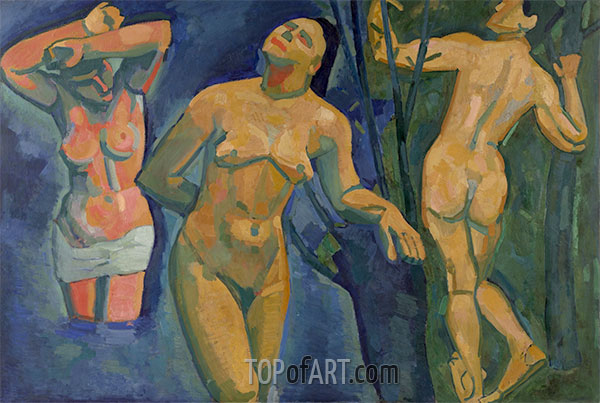 Bathers, 1907 | Andre Derain | Painting Reproduction