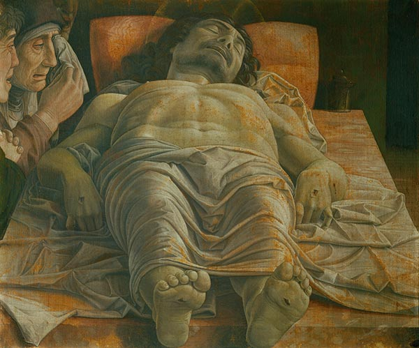 Lamentation of Christ, c.1470/1474 | Mantegna | Painting Reproduction