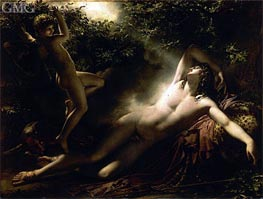 The Sleep of Endymion | Girodet de Roussy-Trioson | Painting Reproduction