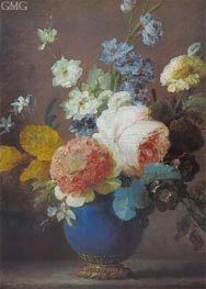 Vase of Flowers | Vallayer-Coster | Painting Reproduction