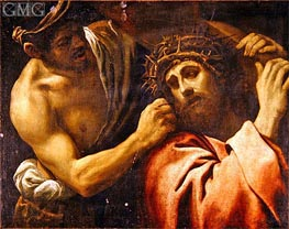 Christ Carrying the Cross, Undated by Annibale Carracci | Painting Reproduction