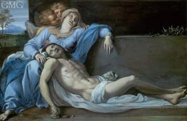 Pieta, c.1603 by Annibale Carracci | Painting Reproduction
