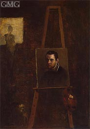 Self-Portrait | Annibale Carracci | Painting Reproduction