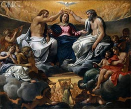 The Coronation of the Virgin | Annibale Carracci | Painting Reproduction