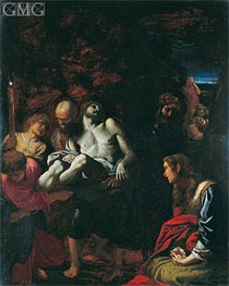 The Burial of Christ | Annibale Carracci | Painting Reproduction
