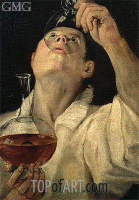 Boy Drinking, c.1582/83 | Annibale Carracci | Painting Reproduction