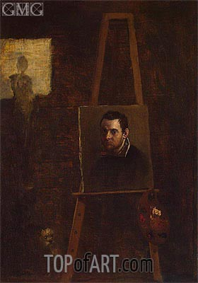 Self-Portrait, c.1604 | Annibale Carracci | Painting Reproduction