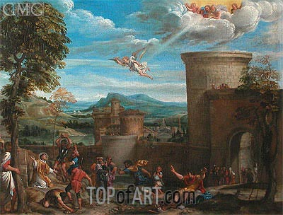 The Stoning of St. Stephen, Undated | Annibale Carracci | Painting Reproduction