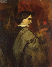 Self-Potrait | Anselm Feuerbach | Painting Reproduction