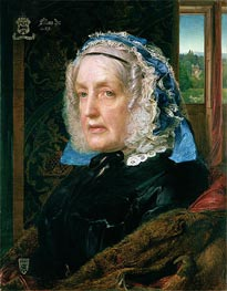 Mrs. Rose, 1862 by Sandys | Painting Reproduction