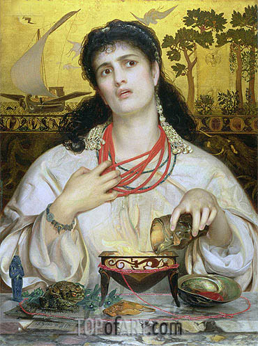 Medea, c.1866/68 | Sandys | Painting Reproduction