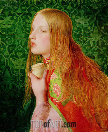 Mary Magdalene, c.1858/60 | Sandys | Painting Reproduction
