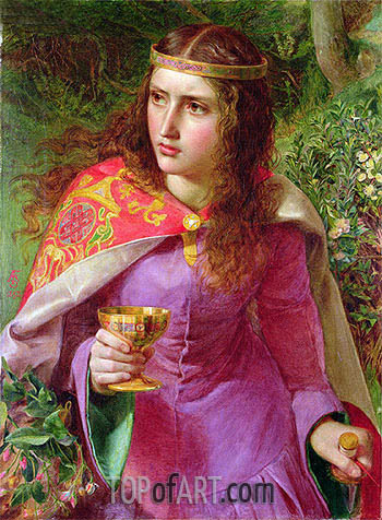 Queen Eleanor, 1858 | Sandys | Painting Reproduction