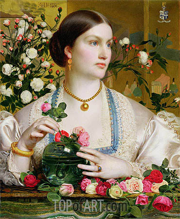Grace Rose, 1866 | Sandys | Painting Reproduction