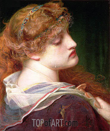 Mary Magdalene, 1862 | Sandys | Painting Reproduction
