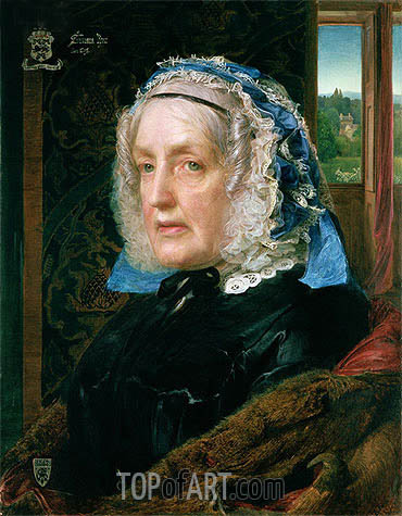 Mrs. Rose, 1862 | Sandys | Painting Reproduction
