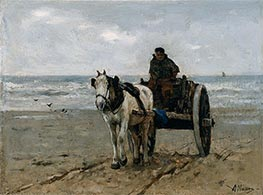 Seaweed Gatherer, Undated by Anton Mauve | Painting Reproduction