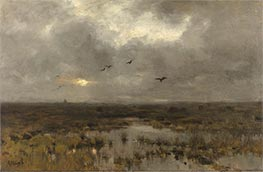 The Marsh, c.1885/88 by Anton Mauve | Painting Reproduction