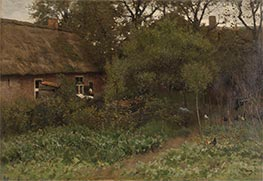 The Vegetable Garden, c.1885/88 by Anton Mauve | Painting Reproduction