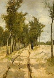The Tower Avenue in Laren, 1886 by Anton Mauve | Painting Reproduction