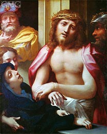 Christ Presented to the People (Ecce Homo), c.1525/30 von Correggio | Gemälde-Reproduktion