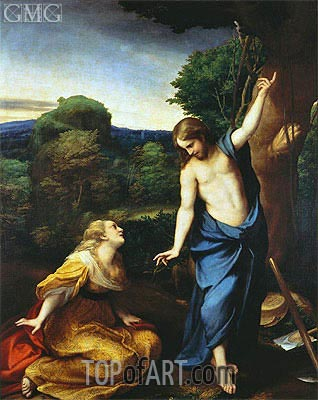 Noli Me Tangere, c.1525 | Correggio | Painting Reproduction