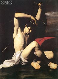 Saint Sebastian, c.1650 by Antonio de Bellis | Painting Reproduction