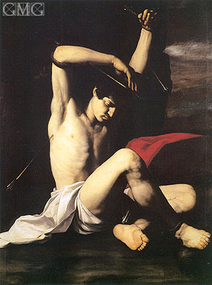 Saint Sebastian, c.1650 | Antonio de Bellis | Painting Reproduction