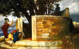 The Sanctuary of Hercules, 1884 by Arnold Bocklin | Painting Reproduction