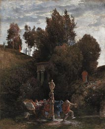 Roman May Festival | Arnold Bocklin | Painting Reproduction