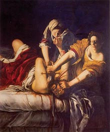 Judith Slaying Holofernes, c.1620 by Artemisia Gentileschi | Painting Reproduction