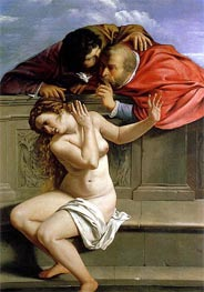 Susanna and the Elders | Artemisia Gentileschi | Painting Reproduction
