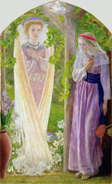 The Annunciation | Arthur Hughes | Painting Reproduction