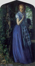 April Love, 1855 von Arthur Hughes | Gemälde-Reproduktion