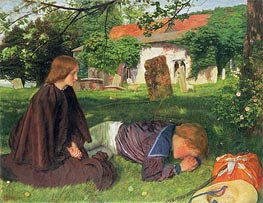 Home from the Sea | Arthur Hughes | Painting Reproduction