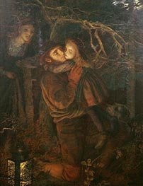 The Lost Child, c.1866/67 by Arthur Hughes | Painting Reproduction