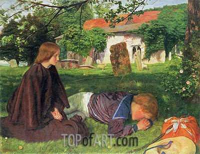 Home from the Sea, 1863 | Arthur Hughes | Painting Reproduction