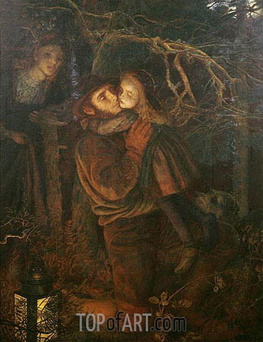 The Lost Child, c.1866/67 | Arthur Hughes | Painting Reproduction