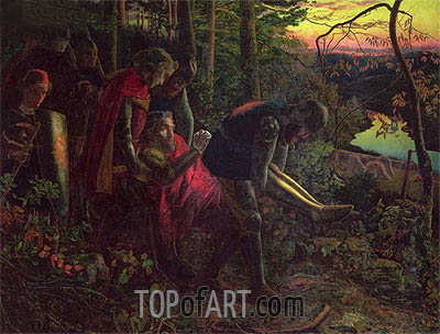 The Knight of the Sun, c.1859/60 | Arthur Hughes | Painting Reproduction