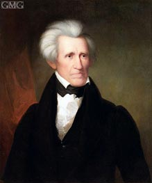 Andrew Jackson, 1835 by Asher Brown Durand | Painting Reproduction