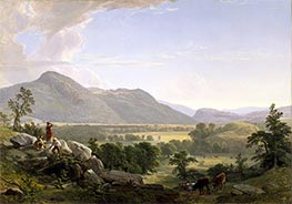 Dover Plains, Dutchess County, New York, 1848 by Asher Brown Durand | Painting Reproduction
