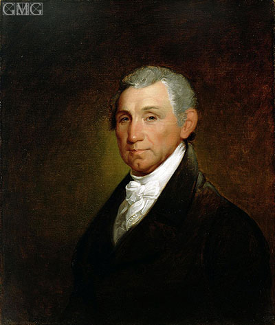 James Monroe, 1835 | Asher Brown Durand | Painting Reproduction